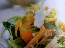 recept Kip-sinaasappelsalade