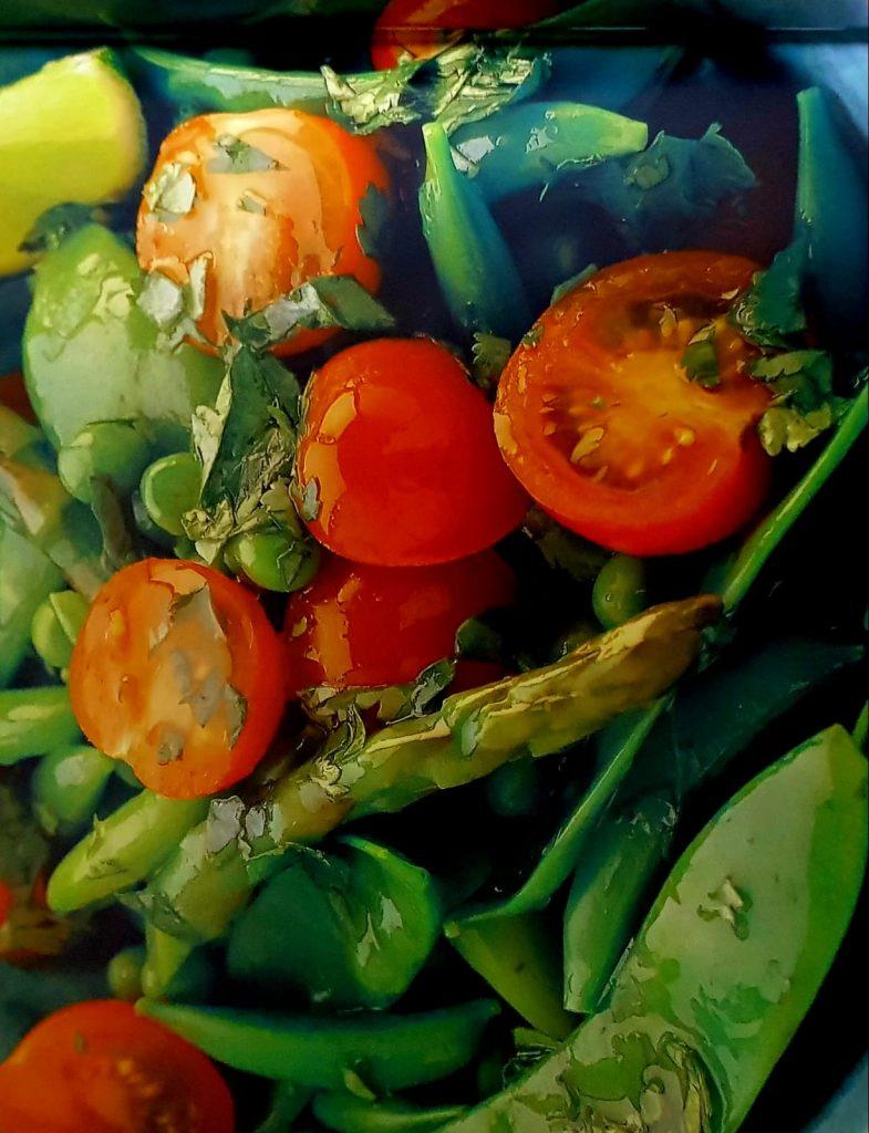 Gezond Recept Zomergroeten met limoen en koriander